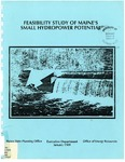 Feasibility Study of Maine's Small Hydropower Potential