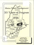 Maine Waste Management : 20 Years of Progress
