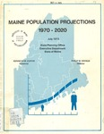 Maine Population Projections, 1970-2020