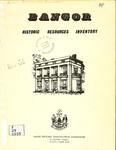 Bangor Historic Resources Inventory, 1975
