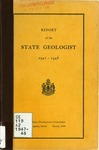 Report of the State Geologist 1947-1948
