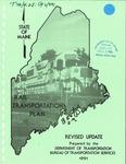 State of Maine Rail Transportation Plan