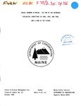 Spruce Budworm in Maine: The End of the Outbreak: Biological Conditions in 1986, 1987, and 1988, and a Look at the Future