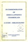 In Commemoration of Joshua Lawrence Chamberlain : A Guide - Bibliography