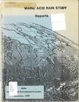 Maine Acid Rain Study : Reports