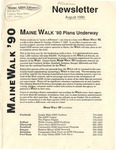 Maine AIDS Alliance Newsletter (August 1990) by Maine AIDS Allaince