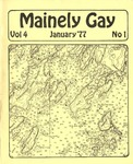 Mainely Gay, Vol.4, No.01 (January 1977) by Peter Prizer and Susan Henderson