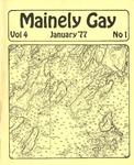 Mainely Gay, Vol.4, No.01 (January 1977)