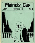 Mainely Gay, Vol.4, No.02 (February 1977) by Peter Prizer and Susan Henderson