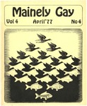 Mainely Gay, Vol.4, No.04 (April 1977) by Peter Prizer and Susan Henderson