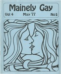 Mainely Gay, Vol.4, No.05 (May 1977) by Peter Prizer and Susan Henderson