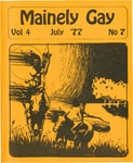 Mainely Gay, Vol.4, No.07 (July 1977) by Peter Prizer, Susan Henderson, John Frank, and Tim Bouffard