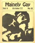 Mainely Gay, Vol.4, No.10 (October 1977) by John Frank, Miriam Dyak, and Wendy Ashley