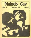 Mainely Gay, Vol.4, No.10 (October 1977)