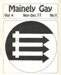 Mainely Gay, Vol.4, No.11 (November/December 1977)