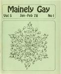Mainely Gay, Vol.5, No.1 (January/February 1978)