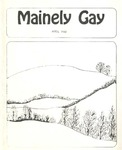 Mainely Gay (April 1980) by Susan Henderson and Peter Prizer
