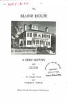 The Blaine House: A Brief History and Guide by H. Draper Hunt and George K. Clancey