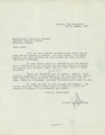 Letter from Rosaire Dion-Levesque to Charlotte Michaud