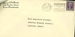 Letter from Edouard DuBuron to Charlotte Michaud