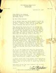 Letter from Roger Paul Jordan Studio