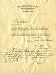 Letter from Maurice Sullivan of the National Park Service