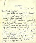 Letter from Mrs. Fred Marsh