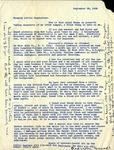 Letter from Margaret