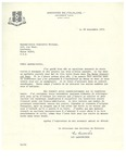 09.28.1972 Letter from Luc Lacourciere to Charlotte Michaud