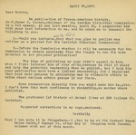 04.25.1971, Letter to Dorris from Charlotte Michaud