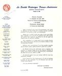 Letter from La Société Historique Franco-Américaine by Richard Santerre