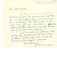Letter from Gabriel Nadeau by Gabrie Nadeau
