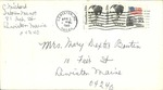 04.05.1985 Letter and Prayer Booklet from Charlotte Michaud to Mary Dexter Boutin by Charlotte Michaud