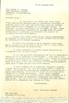 10.16.1974 Letter from Charlotte Michaud to Reverend Pere