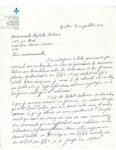 Letter from Government du Quèbec