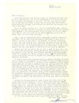 Letter from Skinner