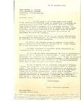 Letter from Charlotte Michaud to Reverend Antonin M. Plourde