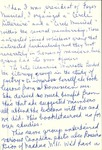 Michaud Memoir Notes by Charlotte Michaud
