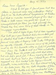 08.04.1979 Letter from Charlotte Michaud to JoAnne Lapointe by Charlotte Michaud