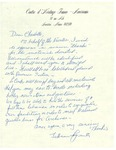 Undated Letter from JoAnne Lapointe to Charlotte Michaud by JoAnne Lapointe