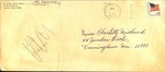 Envelope from Mr. and Mrs. Alfred LeBlanc and Two Newspaper Clippings
