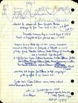 LeBlanc Notes by Charlotte Michaud
