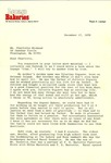 Letter to Charlotte Michaud from Regis LePage by Regis LePage