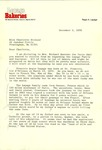 Letter to Charlotte Michaud from Regis LePage
