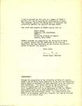 UMA Forum-A Membership Letter from Vernon Segal