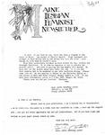 Maine Lesbian Feminist Newsletter 07/1984