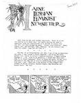 Maine Lesbian Feminist Newsletter 06/1984 by Maine Lesbian Feminist