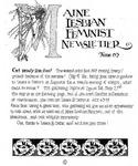 Maine Lesbian Feminist Newsletter 06/1983 by Maine Lesbian Feminist