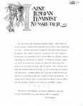 Maine Lesbian Feminist Newsletter 05/1984