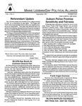 Maine Lesbian/Gay Political Alliance [newsletter] Vol.1, No.2 (September 1991) by Maine Lesbian/Gay Political Alliance